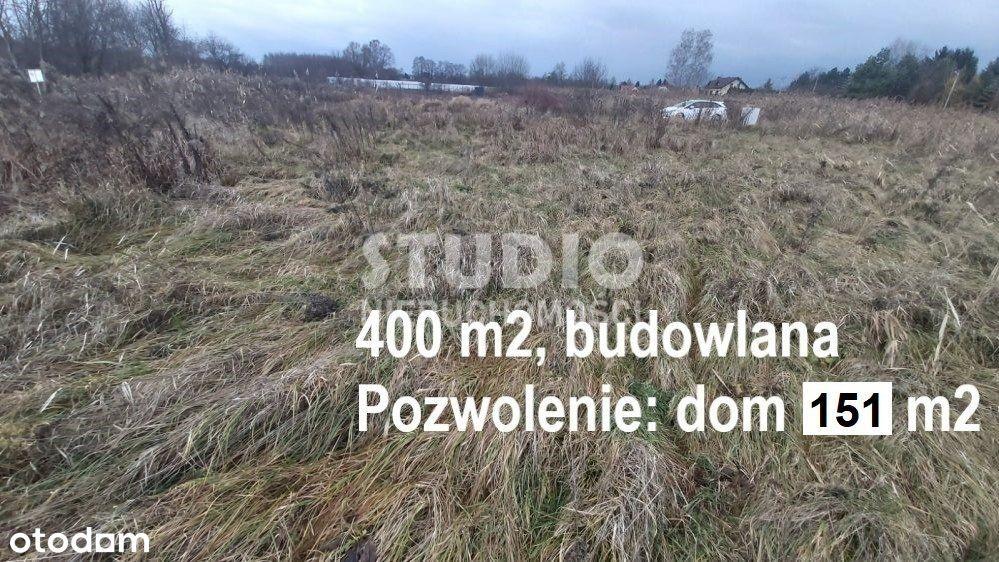 400 m2, Wola Justowska, Pozwolenie