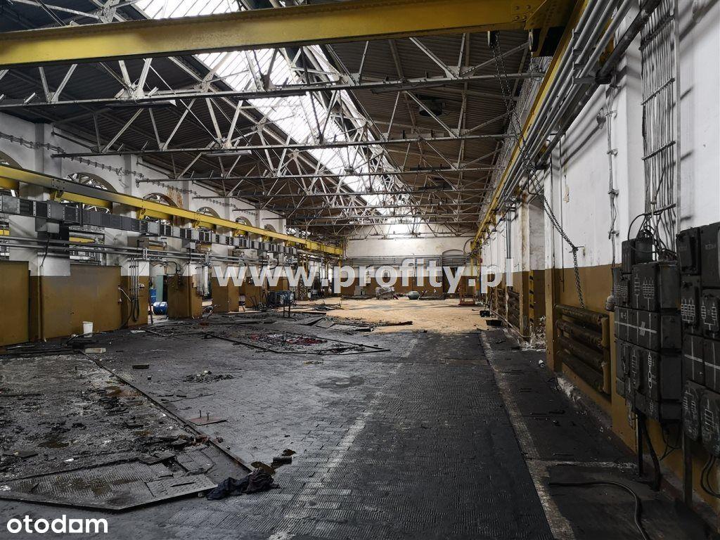 Hala produkcyjna +budynki uzupełniające 5124m2