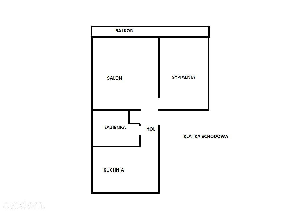 39 m2  2 pokoje  1 piętro  ul. Z. Herberta Olsztyn