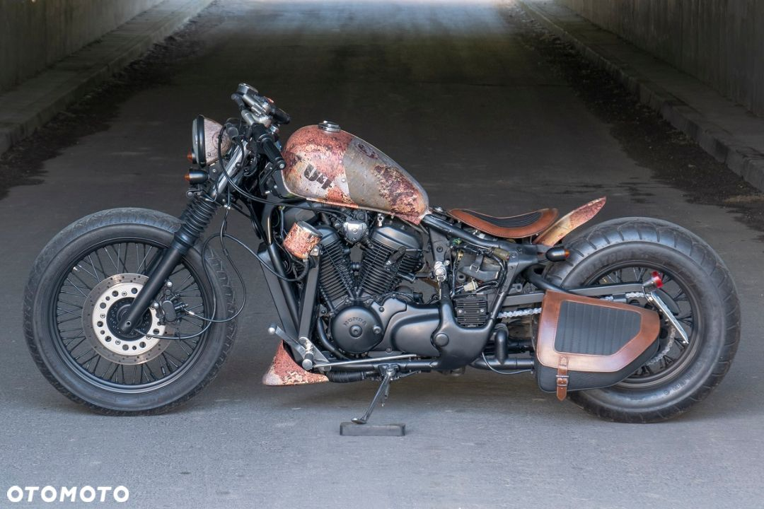Honda VT Shadow vt 600 Flame Custom Bobber cafe - 7