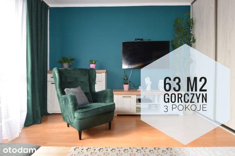 Mieszkanie Dla Rodziny, 63m2, 3 pokoje, os.Górczyn