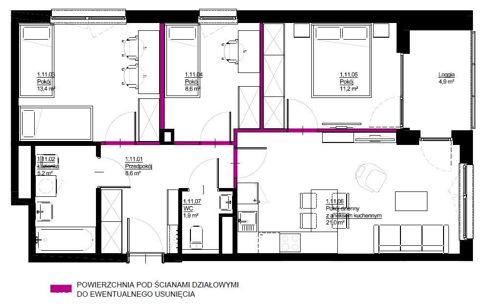 Ustawne mieszkanie activeCity II C2M9 Rezerwacja