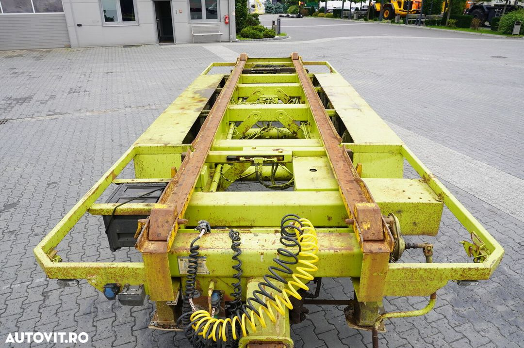 Krone Truckmate 3 axles , Roll-of tipper , 7m - 6