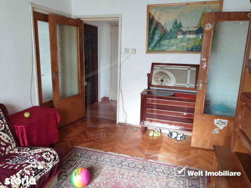Apartament 3 camere, 43 mp, mobilat, Manastur, zona Mehedinti - Invest