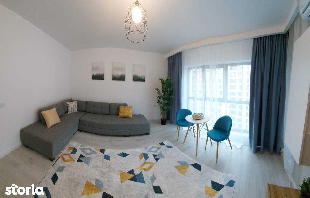 Garsoniera 370 euro Plaza Residence/Lujerului/Militari