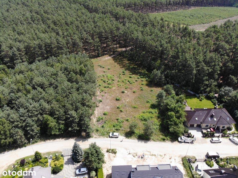 Piękna działka 0.41 ha Zielona Góra przy lesie