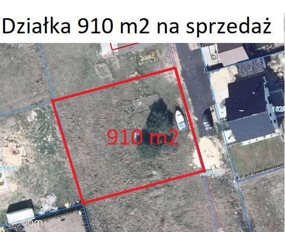 Działka 910 m2 Konradowo Nowa Sól na sprzedaż
