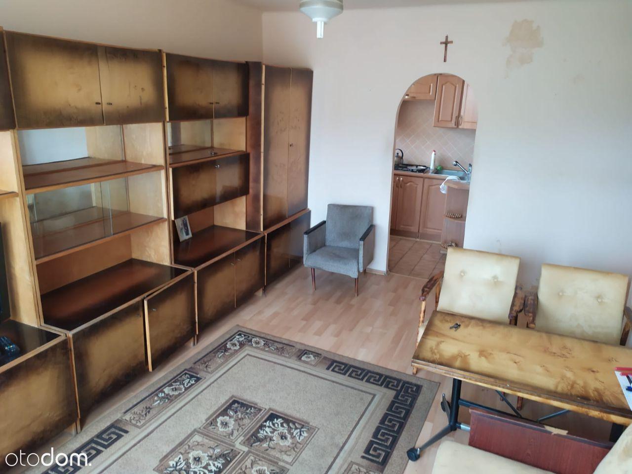 Mieszkanie 2 pokoje z kuchnią 37,2m2 centralne