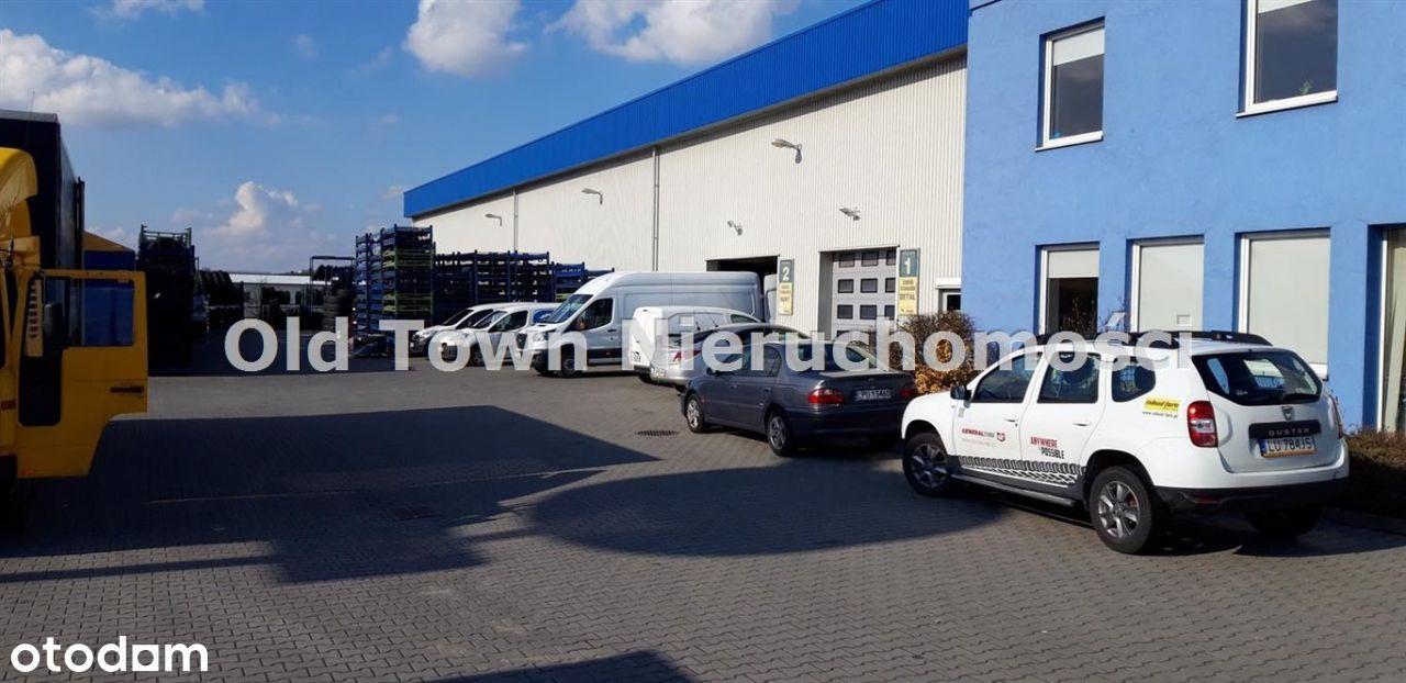 Obiekt magazynowo biurowy 2245 m2 Lublin Felin
