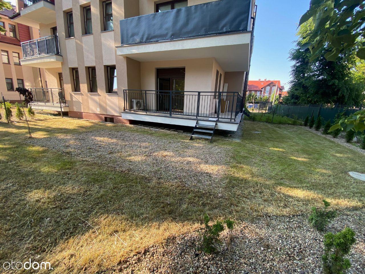 Tarninów, balkon, priv ogródek, klima, garaż