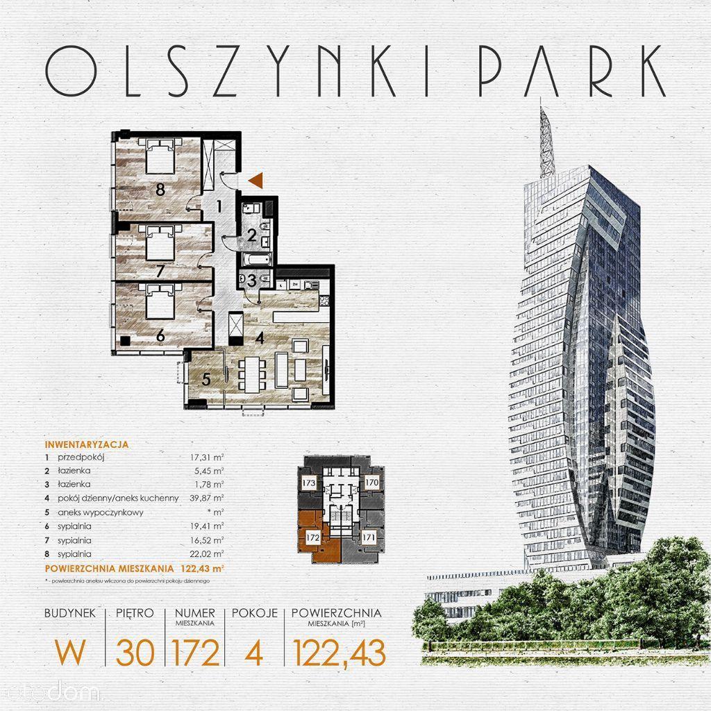 Olszynki Park - Apartament W172