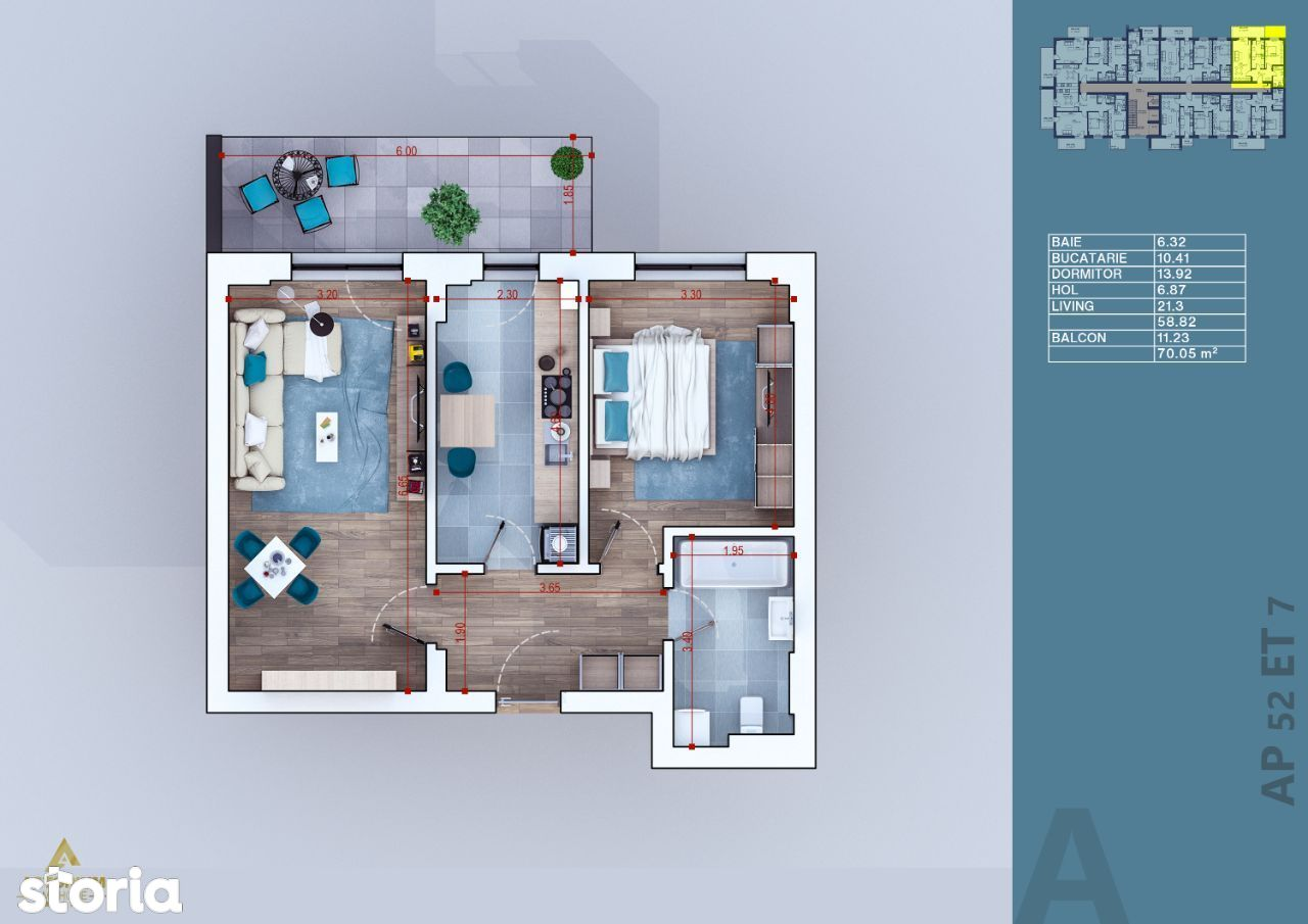 Apartament - 2 camere - vanzare - Titan - Pallady - Direct Dezvoltator
