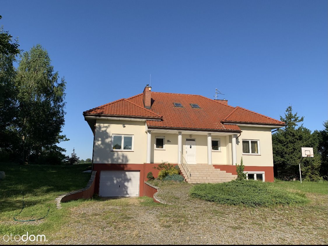 Dom z pięknym widokiem w Grabowcu