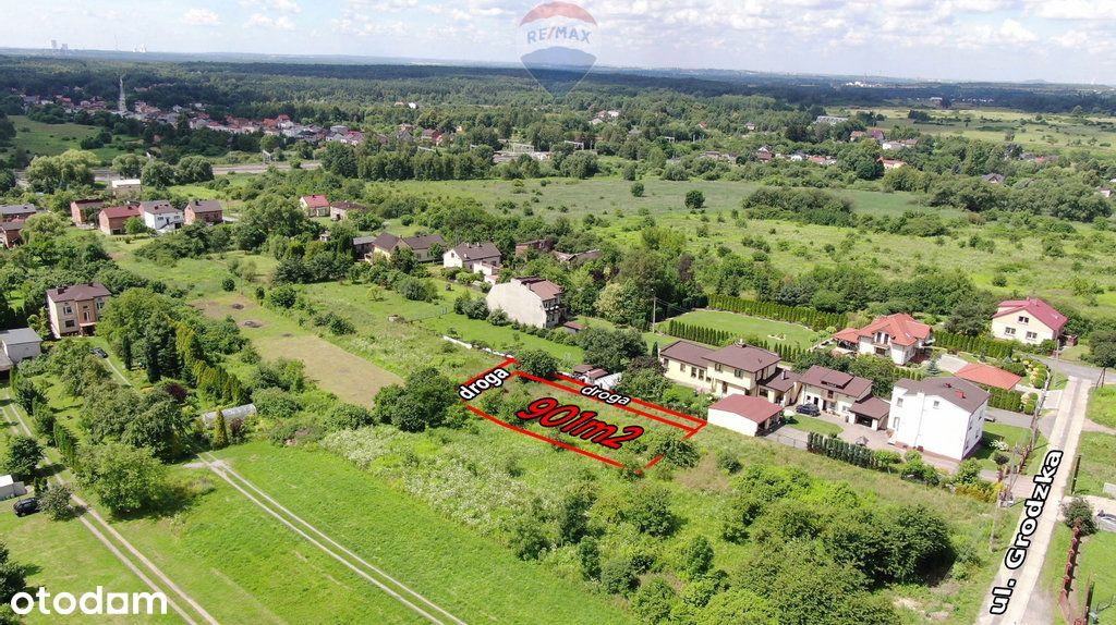 Atrakcyjna działka budowlana położona w Sławkowie