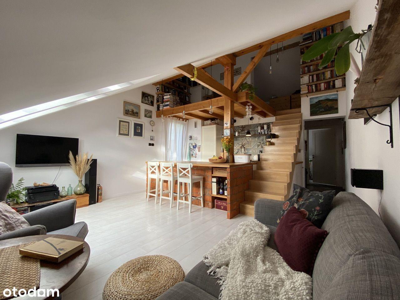 Klimatyczne mieszkanie 54m² plus antresola 15m²