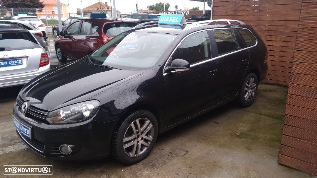 VW Golf Variant 1.6 TDi BlueMotion Confortline - 2