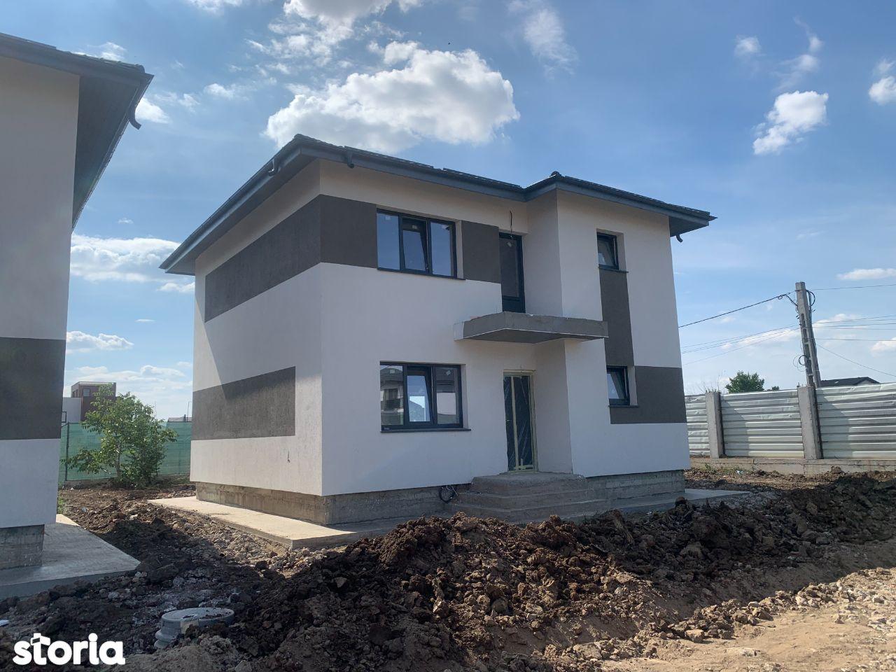 Casa individuala, Bragadiru-300 mp teren, curte amenajata, terasa