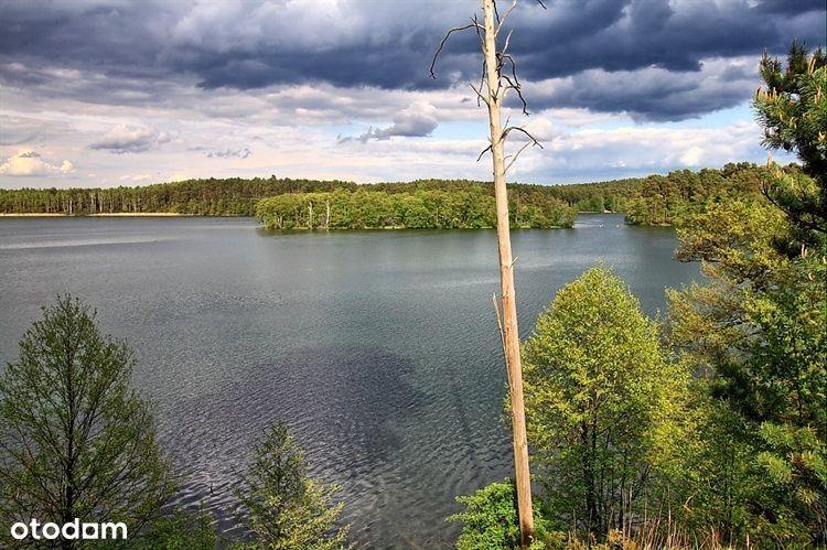 Działka nad jeziorem z pozwoleniem na budowę