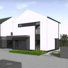 Dom z możliwością zerowych kosztów utrzymania B8M