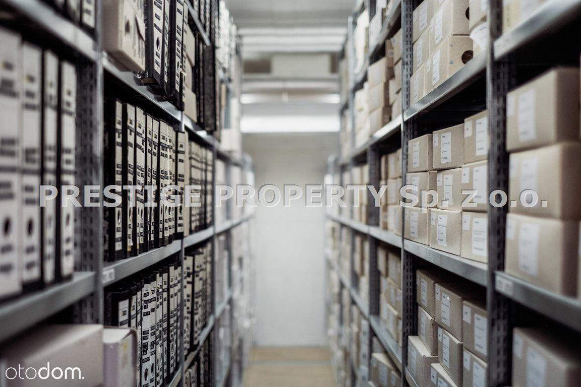 Pomieszczenia z przeznaczeniem na archiwum.