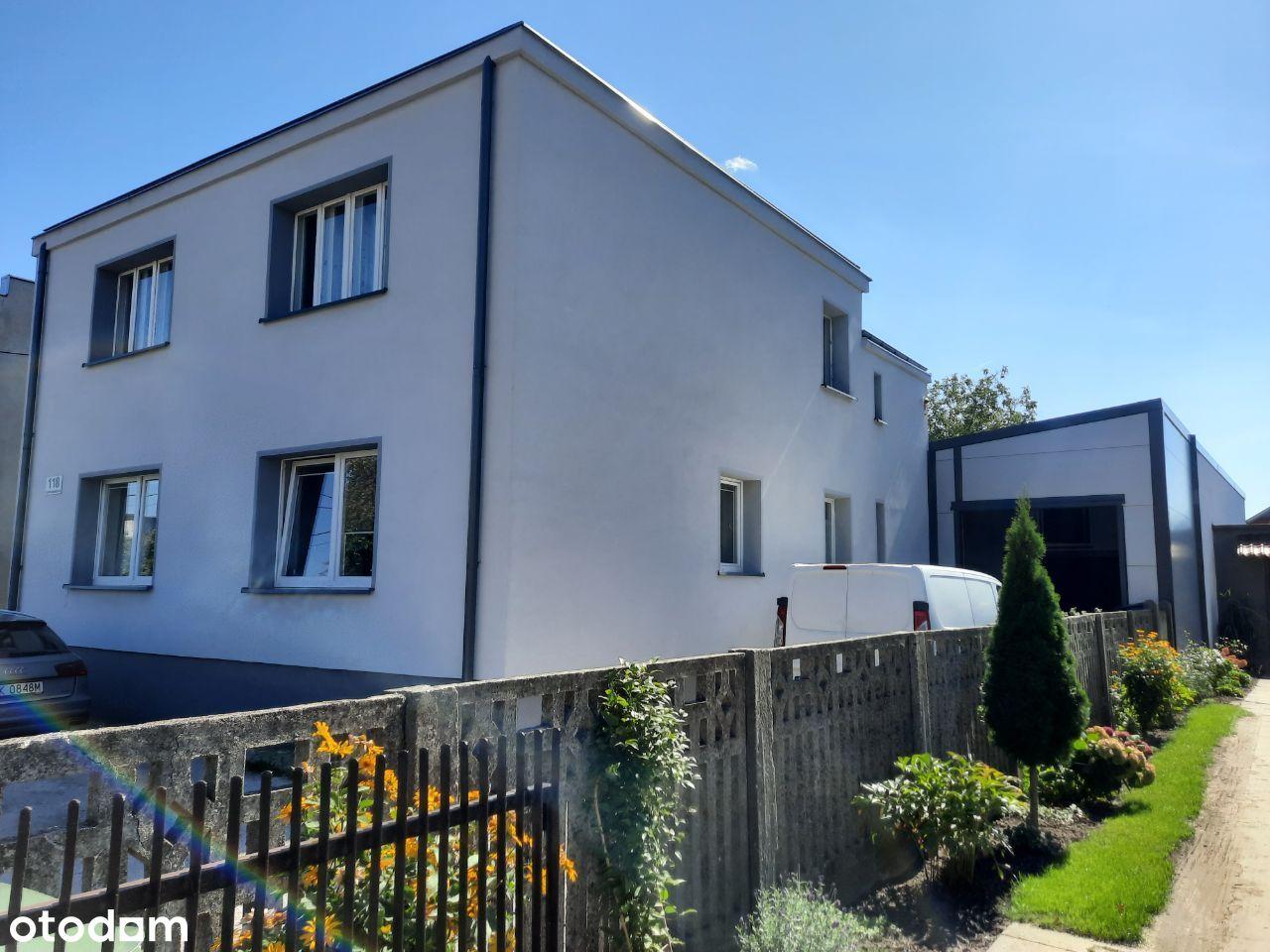 Dom dwa mieszkania lokal użytkowy patio ogródek
