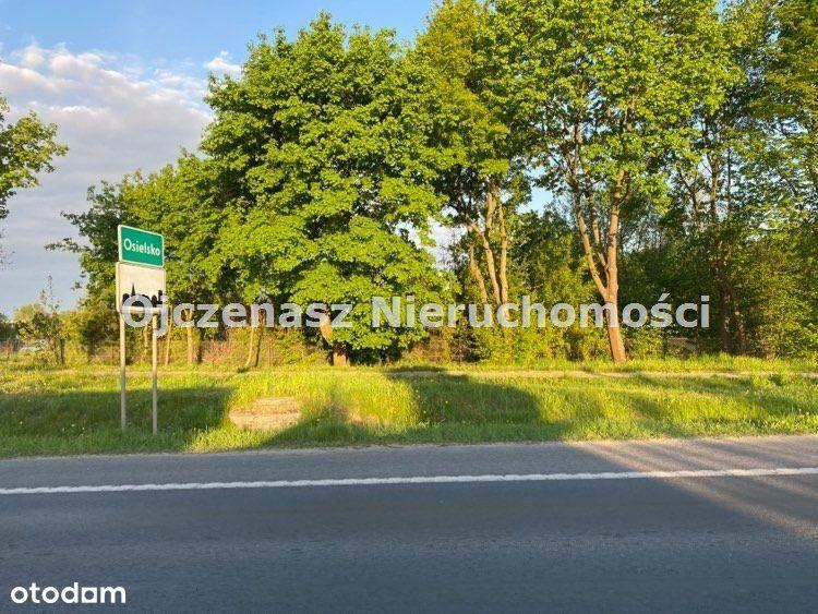 Działka usługowo-mieszkaniowa w Osielsku