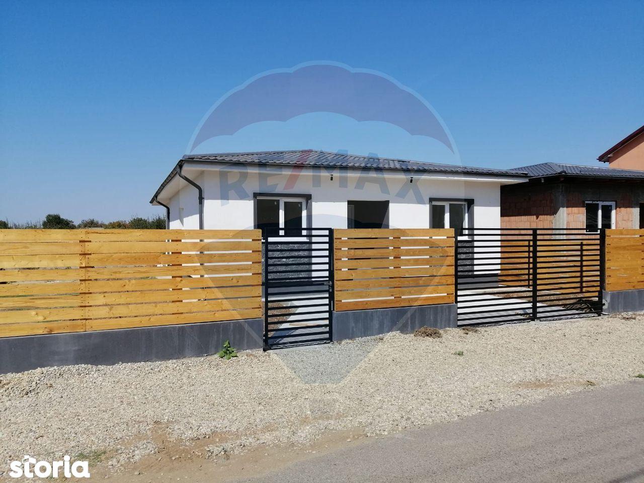 Casă parter cu 4 camere | zona Buftea-Samurcasi | constructie noua