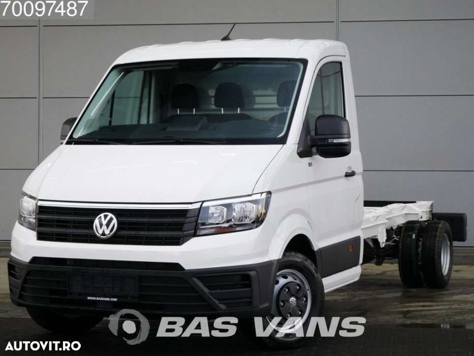 Volkswagen Crafter 2.0 TDI 177PK Chassis cabine Dubbellucht Airco Cr... - 1