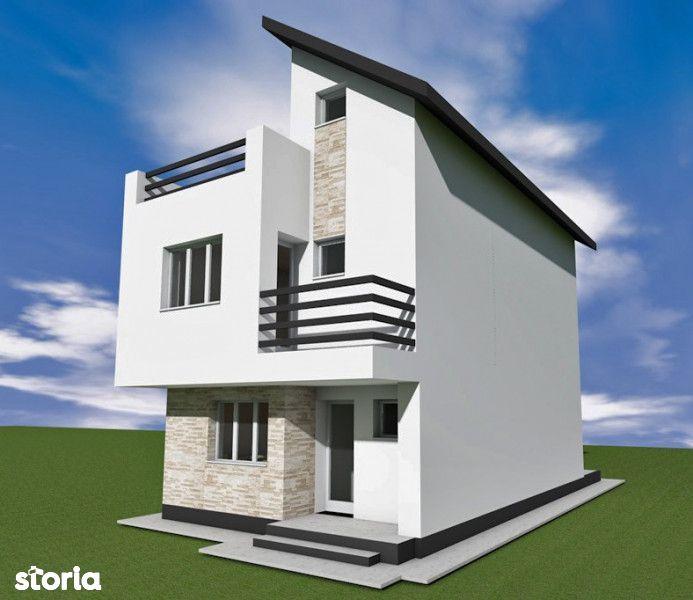 Proiect Nou! Vila Individuala P+1+M Bragadiru-Margelelor 4 camere 3 ba