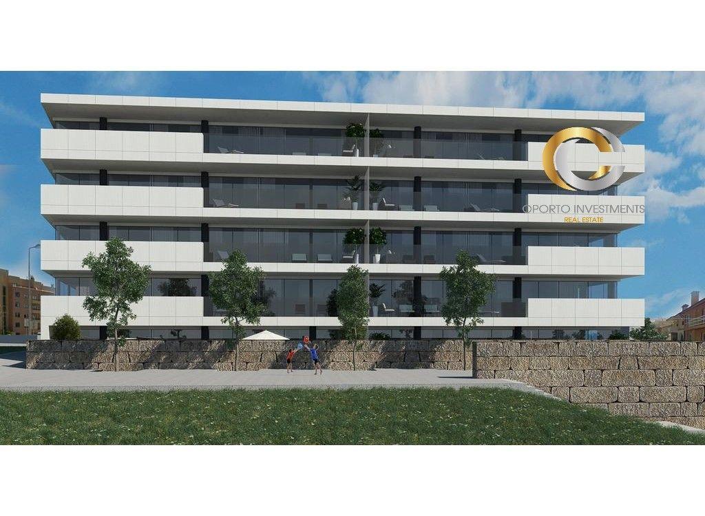 Apartamento T1 de Luxo - Canidelo