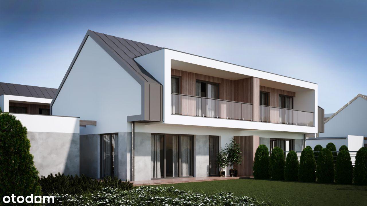 NOWE domy z ogrodem, pompą ciepła i rekuper ŁÓDŹ