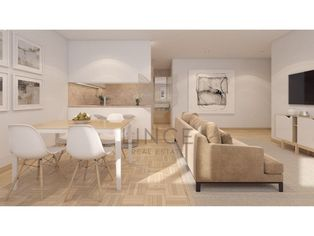 Apartamento T1 Príncipe Real - com 52,42 m2