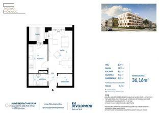 II ETAP - Mieszkanie 36,16 m2 - 1 pok. Zgorzelec