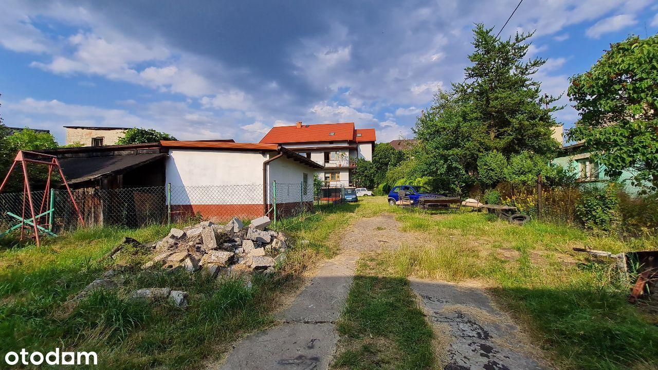 Sprzedam działkę z domem Sosnowiec Kazimierz
