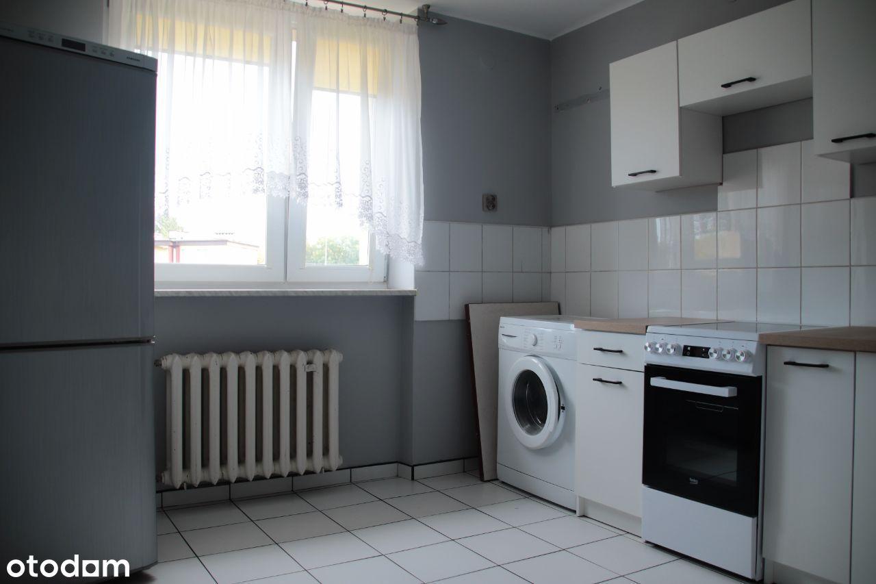 Przestronne 2 pokojowe mieszkanie z balkonem 46m2