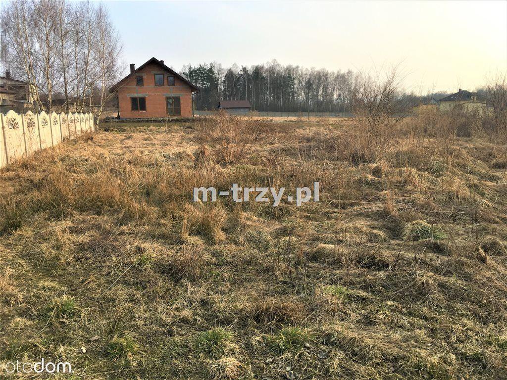 Działka, 1 089 m², Myszków