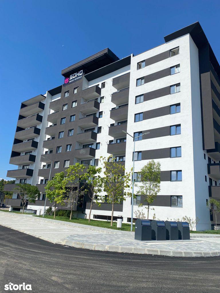 Apartament 2 camere, 2021, Soho Brașov, design modern!