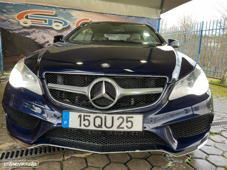 Mercedes-Benz E 220 CDI Avantgard Blue Efficient - 1