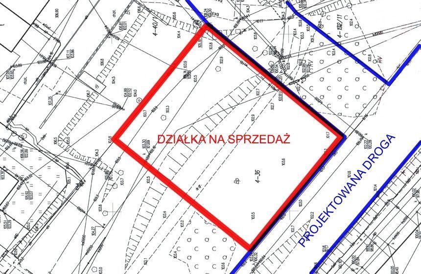 Działka budowlana 2000 mkw -MIESZKANIÓWKA + USŁUGI