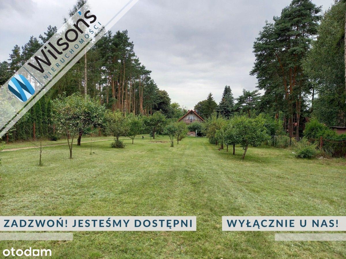 Działka nad Wkrą, 2000 m2 Pomiechówek