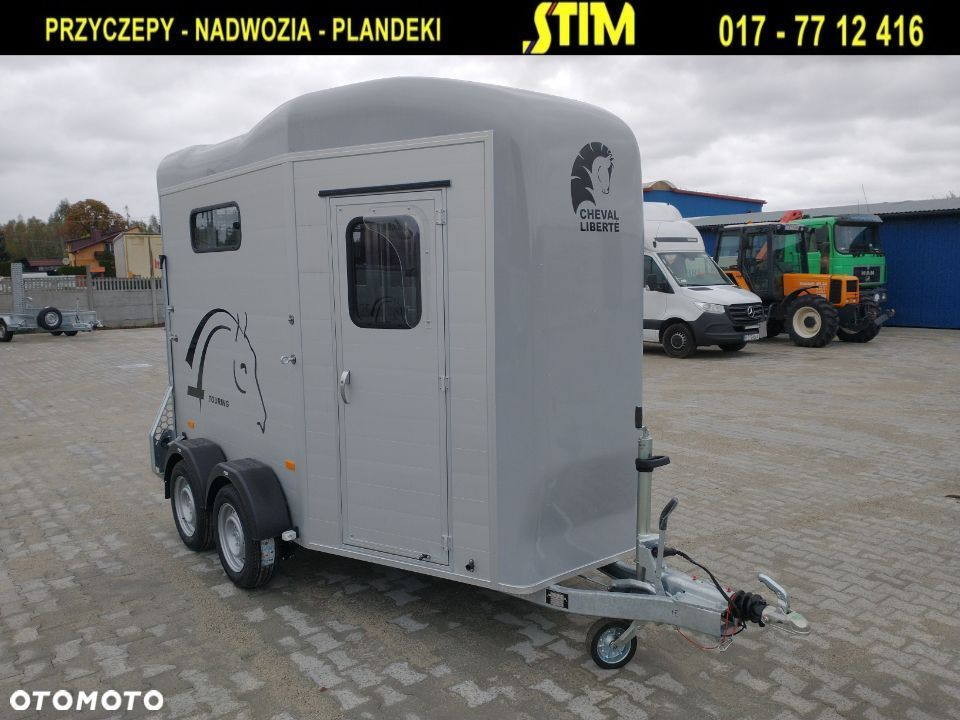 Debon VDK20 - Cheval Liberte Gold Touring Country  DEBON, Touring Country, przyczepa dwukonna, o DMC 2000kg, - 4