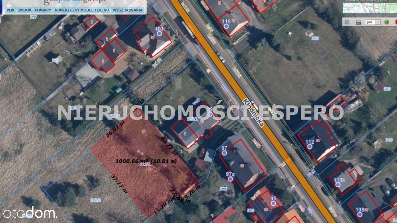 Działka, 1 002 m², Kędzierzyn-Koźle