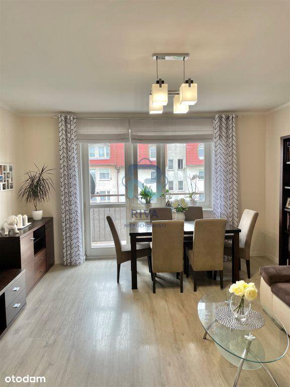 Mieszkanie dwupoziomowe 3 pokoje 71,5 m2 w Dąbiu