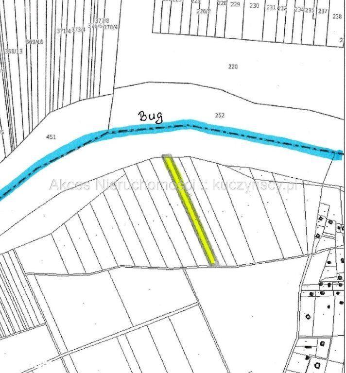 Działka, 5 229 m², Bużka