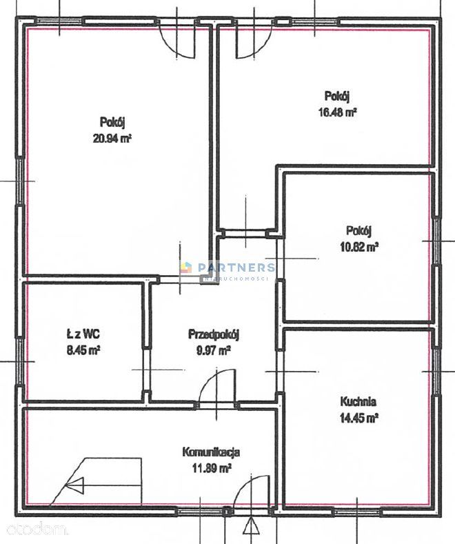 Mieszkanie, 158,82 m², Wałbrzych