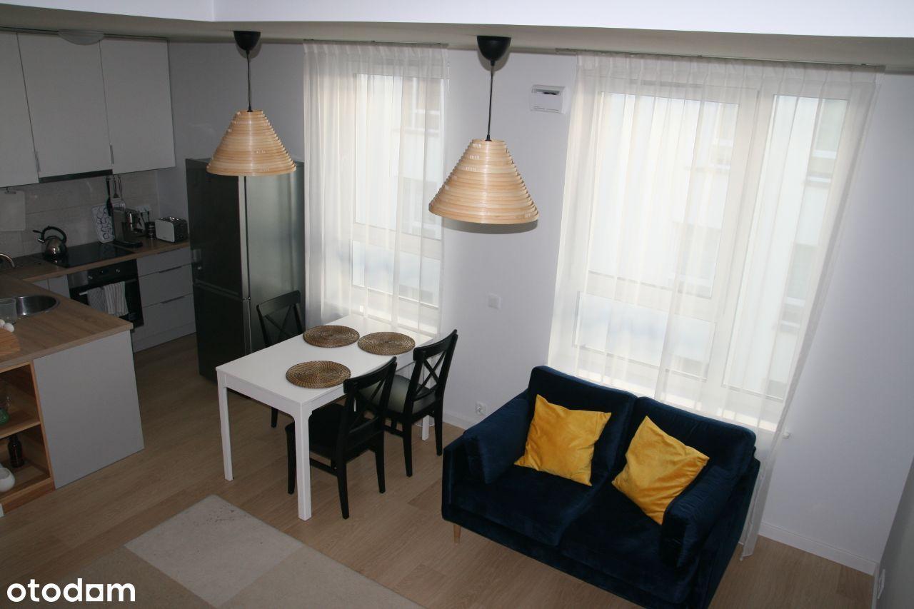 Dwupoziomowy apartament z tarasem w centrum Łodzi