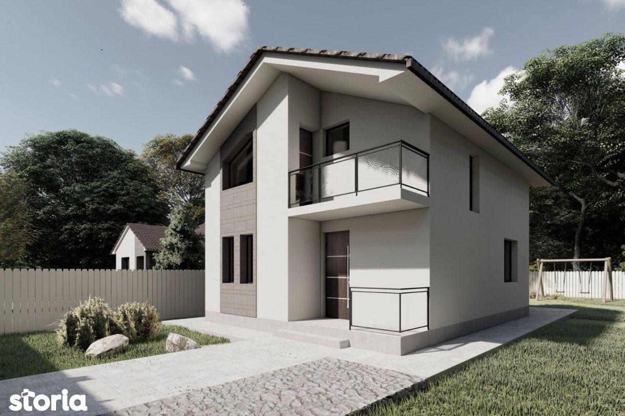 Casa Noua Cu Etaj Carcea Zona Buna