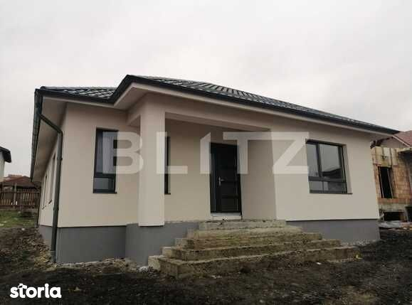 Casa individuala 117 mp utili, teren 486 mp, Campenesti!