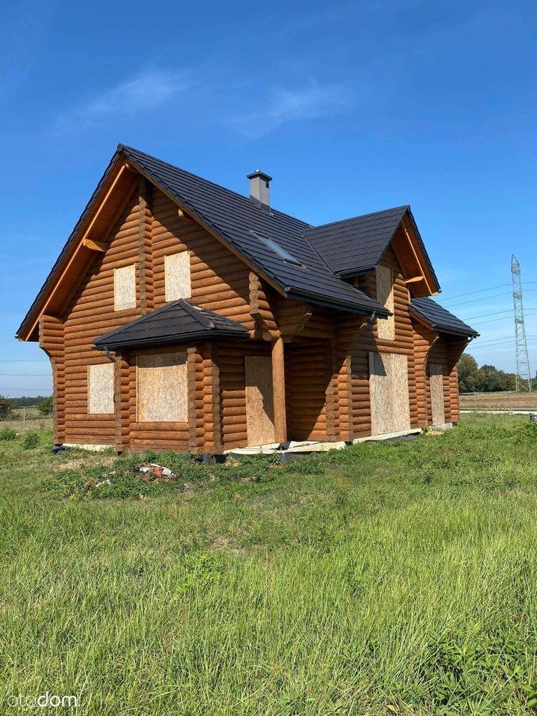 Przepiękny Dom z bali -na sprzedaż