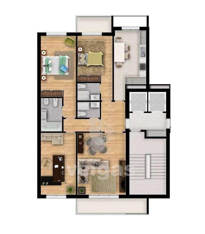 Apartamento para comprar, Santarém (Marvila), Santa Iria da Ribeira de Santarém, Santarém (São Salvador) e Santarém (São Nicolau), Santarém - Foto 9